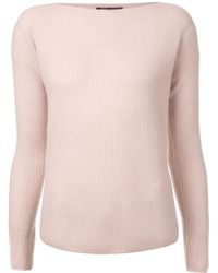 Vince Layout Sweater - Lyst
