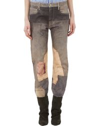 Isabel Marant Valone Girlfriend Jeans - Lyst