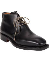 Bettanin & Venturi Plain-Toe Chukka Boots - Lyst
