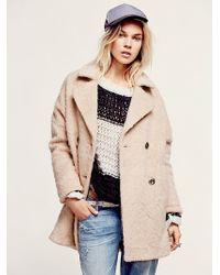 Free People Miss Molly Textured Overco - Lyst