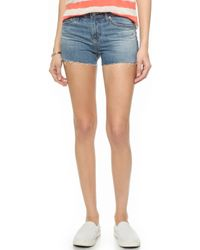 AG Adriano Goldschmied Bonnie Relaxed Shorts - 14 Years Sundrenched - Lyst