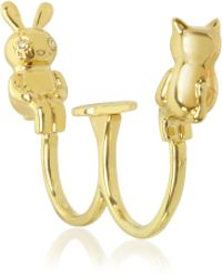 Marc By Marc Jacobs - Tiny Bunny And Cat Ring - Lyst