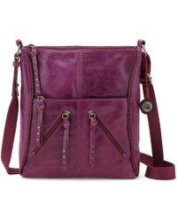 The Sak Purple Iris Crossbody - Lyst