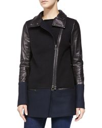 Mackage Leita Mixed Media Jacket - Lyst