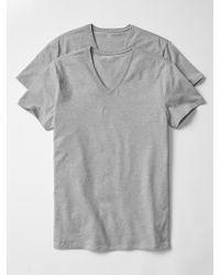 Gap - Stretch V-neck T-shirts (2-pack) - Lyst
