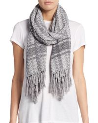 BCBGeneration - Global Girl Button Scarf - Lyst