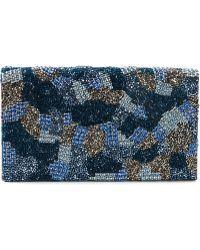 Alice + Olivia 'Camo Be Beaded' Clutch - Lyst