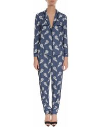 Paul & Joe Printed Pajama Shirt - Lyst