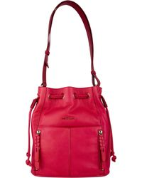 Cole Haan Red Felicity Drawstring - Lyst