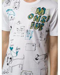 Viktor & Rolf - Doodle-Print T-Shirt - Lyst