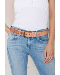 Nasty Gal - Belica Leather Belt - Lyst