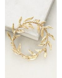 Anthropologie - Pearled Wreathring Brooch - Lyst