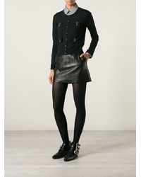 DSquared2 Bow Embellished Cardigan - Lyst