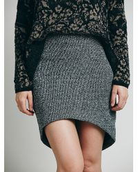 Free People White Wildfire Skirt - Lyst