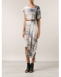 Vivienne Westwood Anglomania Alaska Scarf Dress - Lyst