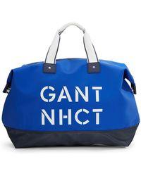 Gant O.P. Nhct Logo Duffel Bag - Lyst