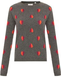 Chinti & Parker Queen Of Hearts Sweater - Lyst