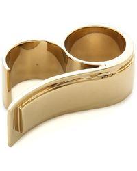 By Malene Birger Klarinet Ring  Gold - Lyst