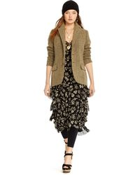 Polo Ralph Lauren Linen-Wool Herringbone Jacket - Lyst