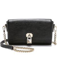 Rebecca Minkoff Lane Cross Body Bag - Black - Lyst