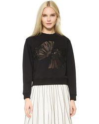 Edition10 - Fan Cutout Sweatshirt - Lyst