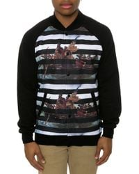 Crooks And Castles The Liberated Baseball Jacket - Lyst