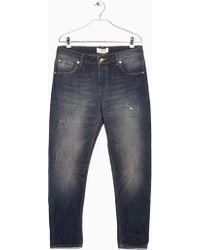 Mango Gray Jeans Angie4 - Lyst