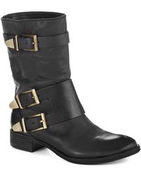 Boutique 9 Radannah Leather Boots - Lyst