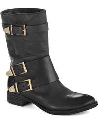 Boutique 9 Radannah Leather Boots black - Lyst