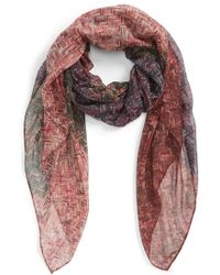 Tasha - Ombre Woven Print Scarf - Lyst