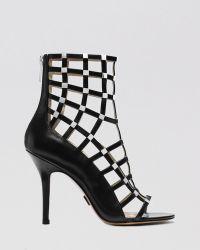 Michael Kors Open Toe Caged Sandals  Cora High Heel - Lyst