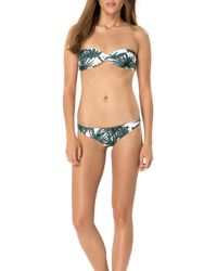 Mara Hoffman Twist Bandeau Bikini Top - Lyst