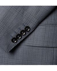 Dunhill - Grey Belgravia Slim-fit Checked Wool Suit - Lyst