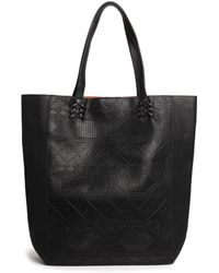 Pull&Bear - Shopper Bag with Embossed Print - Lyst