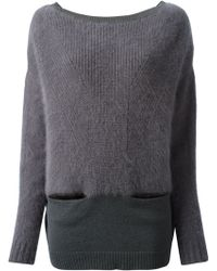Nina Ricci Back Button Fastening Sweater - Lyst