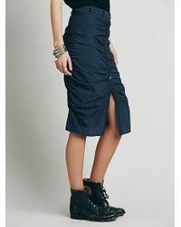 Free People Womens History Lesson Skirt - Lyst