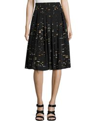 Risto - Pleated A-line Skirt - Lyst
