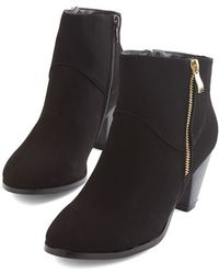 Shoe Magnate Inc | Forever And Clever Bootie | Lyst