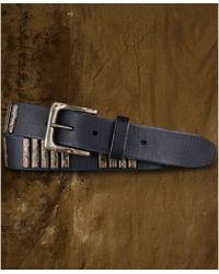Denim & Supply Ralph Lauren - Bar Studded Leather Belt - Lyst