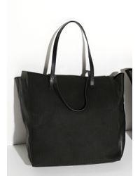 Mango Texture Leather Bag - Lyst