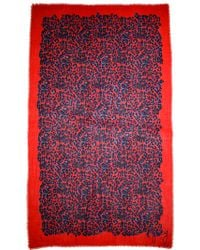 Juicy Couture - Leopard Scarf - Lyst