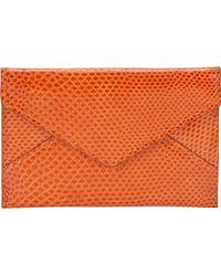 Barneys New York Karung Mini Envelope Pouch - Lyst