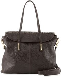 Elizabeth And James Pyramid Leather Satchel Bag - Lyst