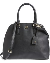 Tory Burch 'Robinson' Leather Dome Satchel - Lyst