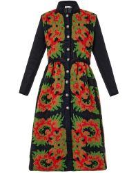 Tak.ori | Floral Intarsia-Knit Dress | Lyst