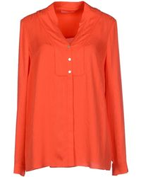 Matthew Williamson Orange Shirt - Lyst