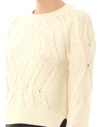 Emma Cook | Spider Cable Knit Sweater | Lyst