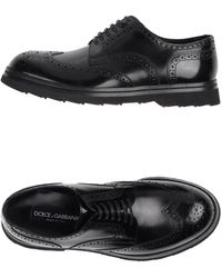Dolce & Gabbana Lace-Up Shoes - Lyst