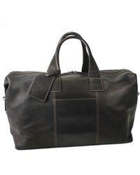 Kenneth Cole Reaction - Leather Duffel Bag - Lyst