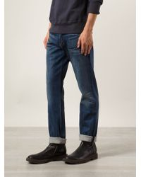 Rag & Bone Fitted Jeans - Lyst